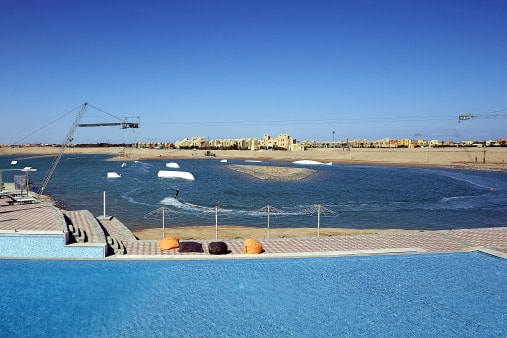 Go Investment 1393423883wake Hurghada opens one of the biggest cable parks in the world Egypt News