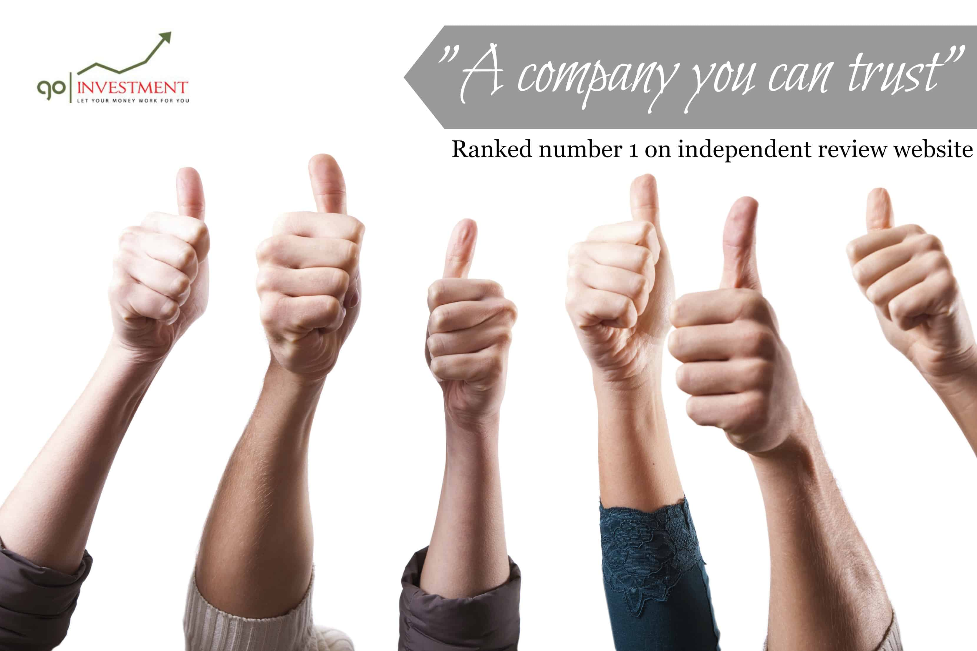 Go Investment 1434371182thumbsup Go Investment top London firm show why their clients keep on returning to invest through them General