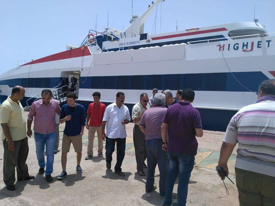 Go Investment 1465903835facebookferry1 Hurghada and Sharm el Sheikh tourists have a new connection Egypt News